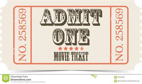 free printable vintage ticket template retro clipart ticket pencil and in color retro clipart
