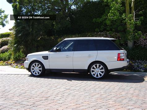 luxury black range rover 2009 range rover sport luxury ed white black 2011