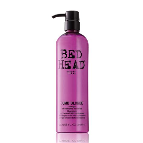 bed head dumb blonde tigi bed head dumb blonde shoo for chemically treated