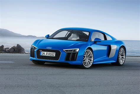 New Audi R8 unveiled: news and specs of 2015 supercar by