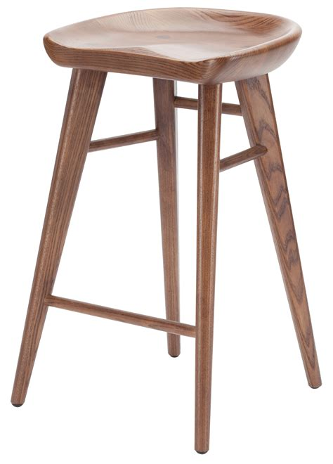 nuevo bar stools sale kami counter stool walnut 25 5 quot modern bar and counter