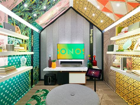 wallpaper design store sonos opens their first retail store in soho design milk