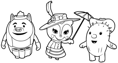 sheriff callie coloring pages getcoloringpages com
