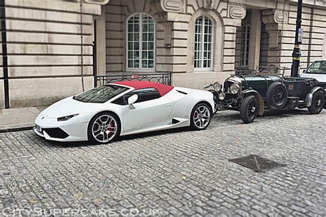 Lamborghini Huracan Spyder LP 610 4 ? £3000/weekend ? City Supercars