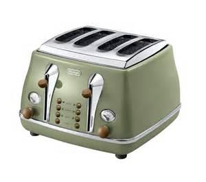 De Longhi Icona Toaster Buy Delonghi Icona Vintage Ctov4003gr 4 Slice Toaster