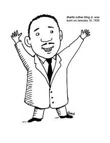 Martin Luther King Coloring Pages For Kindergarten martin luther king jr coloring pages and worksheets best