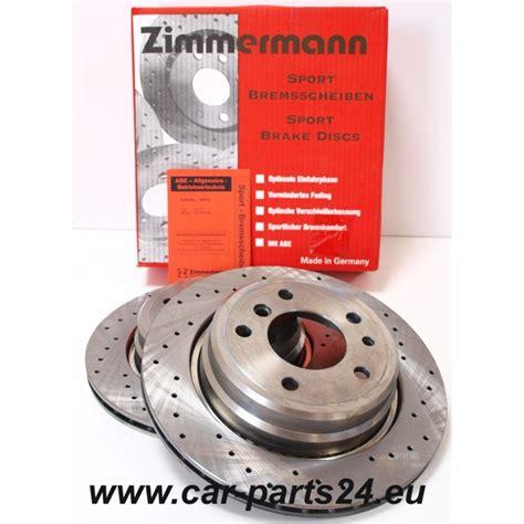 Zimmerman Bmw by Zimmermann Sport Rear Brake Discs Bmw E34 300x20mm For Bmw