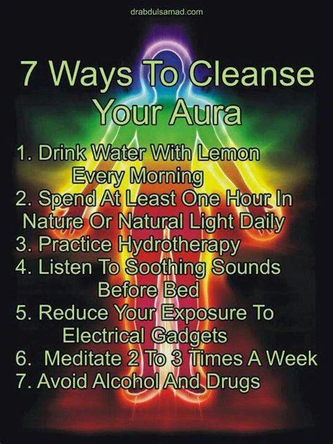Top Ten Ways To Detox Your by 7 Ways To Cleanse Your Aura