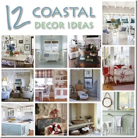 coastal style decorating ideas coastal d 233 cor ideas just paint it blog