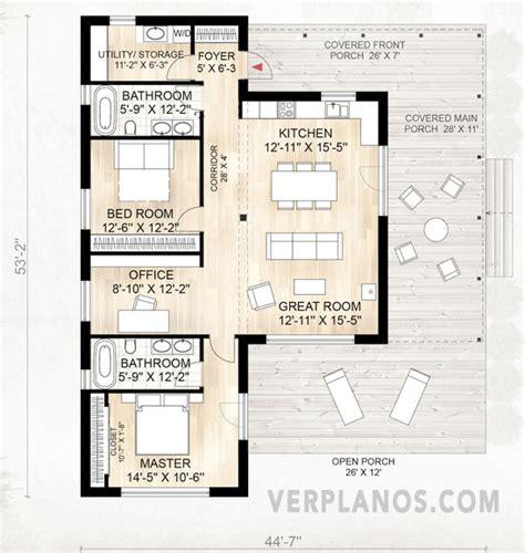 Duplex Floorplans plano de casa container de 114m2 muy flexible y confortable