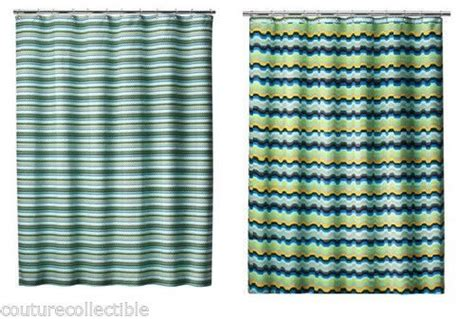 missoni shower curtain new missoni home shower curtain blue fabric and 50 similar