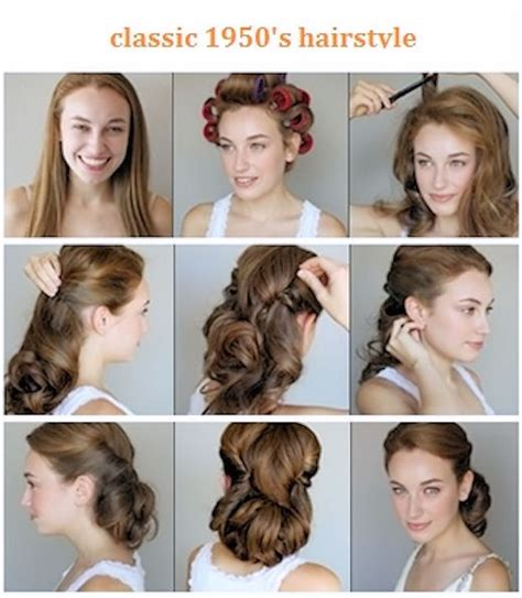 diy 1950 hairstyle classic 1950s hairstyle pictures photos and images for