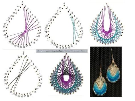 String Directions - string jewellery using sting