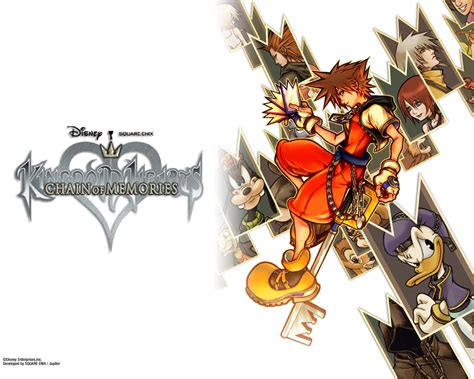 kingdom hearts chain of memories sora