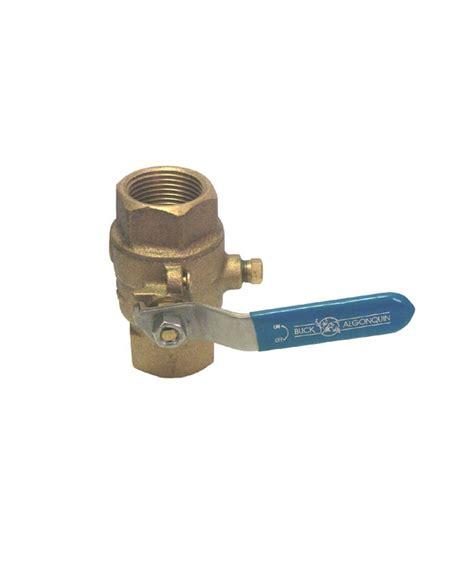 Plumbing Flow Valve by Buck Algonquin Valve Flow Bronze Brass