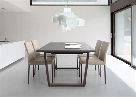 modern metal base dining table dining tables