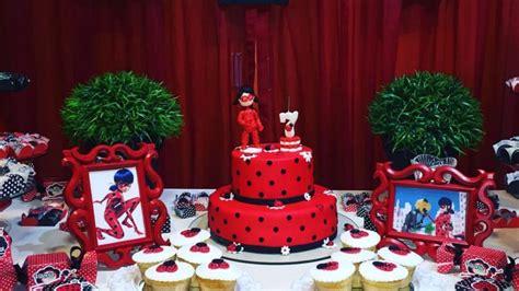 decoracion cumpleanos infantiles cumplea 241 os de lady bug idea decoraci 243 n cumplea 241 os