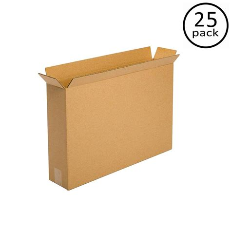 plain brown box 24 in x 5 in x 18 in 25 box bundle