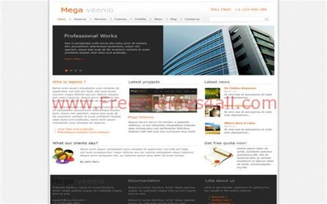 free business building jquery joomla template freethemes4all