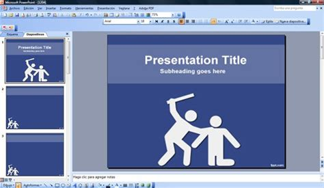 powerpoint templates for violence violence powerpoint template