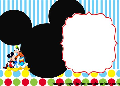 Mickey Mouse Printable Birthday Cards Mickey Mouse Birthday Card Gangcraft Net