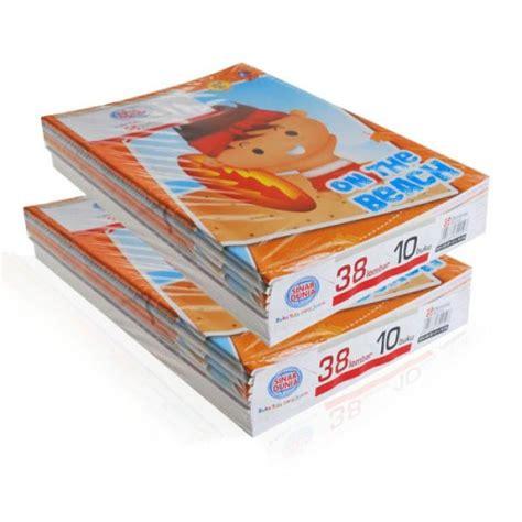 Buku Tulis Sinar Dunia Sidu 10x38 Lembar buku tulis sinar dunia 38 lembar