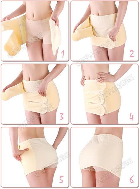 Support After C Section by Ventilated Abdominal Binder For China