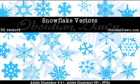 snowflake pattern illustrator superb free vector sets for designers