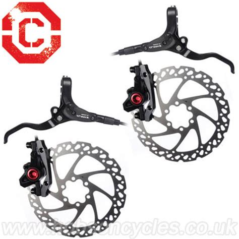 Disc Brake Set 180mm clarks m2 hydraulic brake set 180mm 160mm rotors
