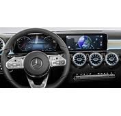 2018 Mercedes Benz A Class Interior Revealed  Photos 1