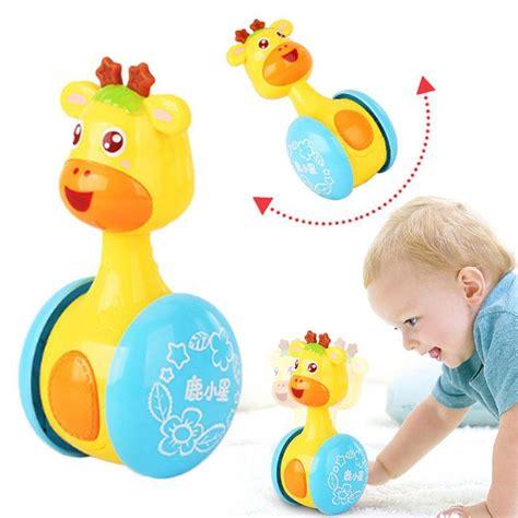 Mainan Baby Bell Toys bayi mainan kerincingan mainan manis bell musik bulat poli