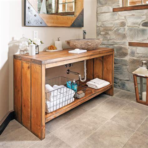 bagno cer fai da te comment fabriquer un meuble lavabo en bois pallet