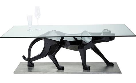 Panther Coffee Table Designer Panther Coffee Table Fibreglass And Glass 1400x700x480 Specialist Furniture Contracts