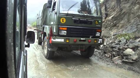 indian army truck indian army trucks queue at sikkim border