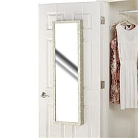 over the door beauty armoire with full length mirror home organization home storage hsn
