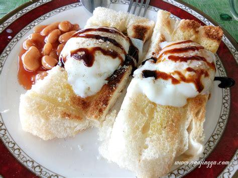 sarapan viral roti leleh batu arang anajingga
