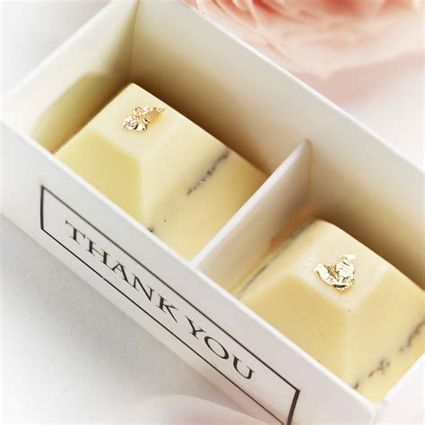 personalized chocolate wedding favors uk set of 25 boxed chocolate wedding favours by the whimsical
