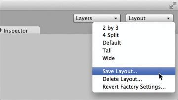 unity layout save setting up the unity window layout game design