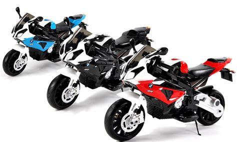 Motorrad Bmw Elektro by Bmw Elektro Kinder Motorrad Groupon Goods