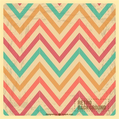 vintage pattern ai zig zag vintage pattern vector free download