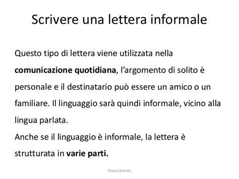 lettere informali capire e scrivere una lettera
