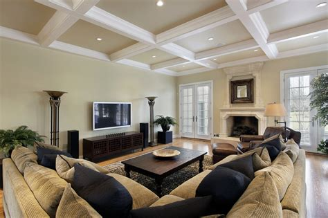 Ceiling Beams White by 33 Living Room Designs With Beautiful Woodwork Throughout