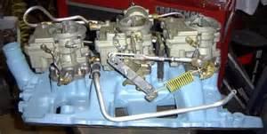 Pontiac Tri Power Carbs 1964 Tripower Linkage Kit Pontiac Tripower