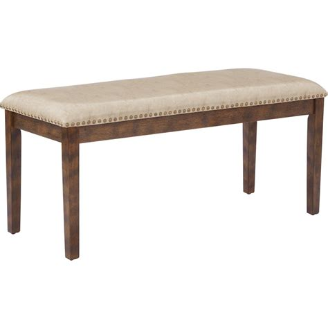 beige bench osp designs beige langston bench lng1616 bg the home depot