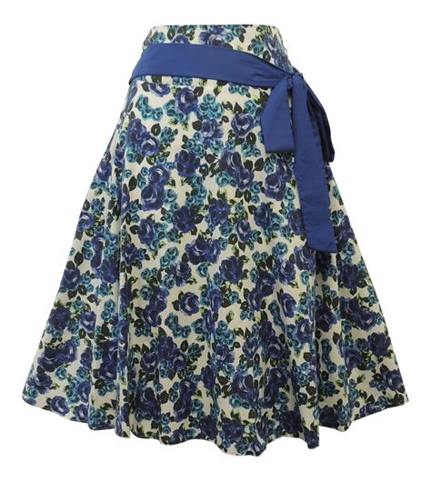 Summer Skrit For Vintage new vintage style 1930 s 1940 s retro ww2 wartime floral summer skirt