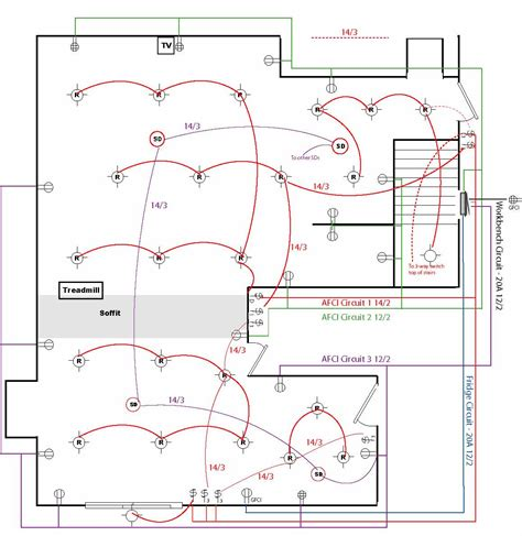4 best images of home wiring circuit diagram home