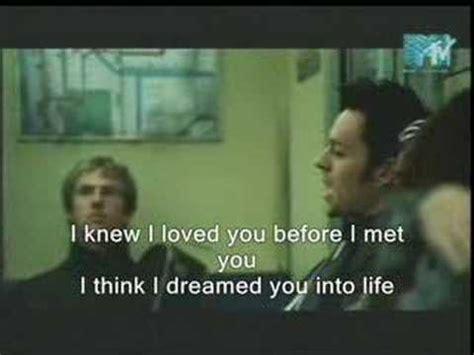 savage garden i knew i you with lyrics on it