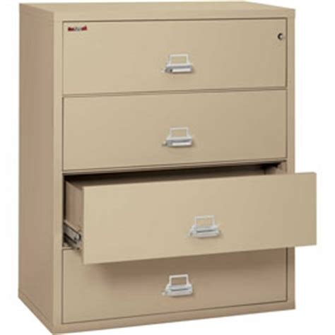 Fireproof Lateral File Cabinets File Cabinets Fireproof Fireking 174 Fireproof Lateral Files Globalindustrial
