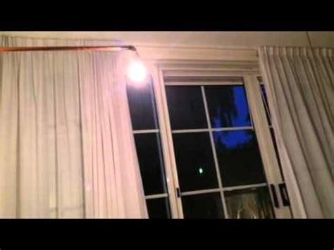 motorized curtains diy diy motorized curtains test 1 youtube
