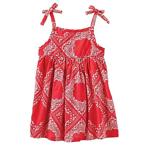 Dress Bandana Baby buy oshkosh baby b gosh 174 size 6m bandana dress in from